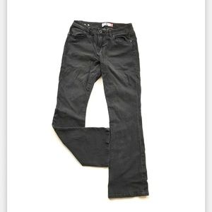 CAbi women's curvy slim boot jeans size 8